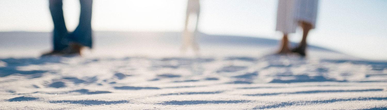 Slørede ben i sand - med regression kan du komme til at se klarere